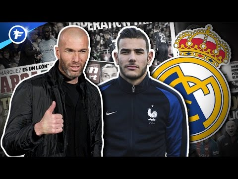 Zidane valide la première recrue du Real Madrid | Revue de presse