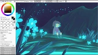 Waterfall Chorus [Drawing Timelapse]