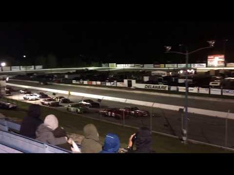 Delaware Speedway Championships night crash - September 8 2017