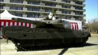 Japan New 44ton MBT (Main Battle Tank) Type10 Tank Prototype (TK-X) - Korean News