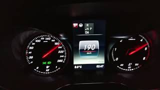 2018 Mercedes GLC 220d Beschleunigung und Fahrleistungen