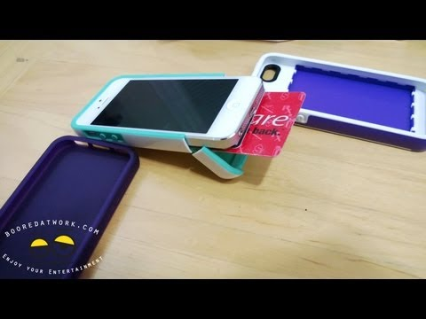 Incipio iPhone 5 STASHBACK, STOWAWAY & NGP Case Review
