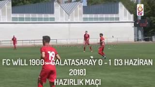 GALATASARAY - FC WİLL 1900  HAZIRLIK MAÇI ÖZET [13 HAZİRAN 2018]