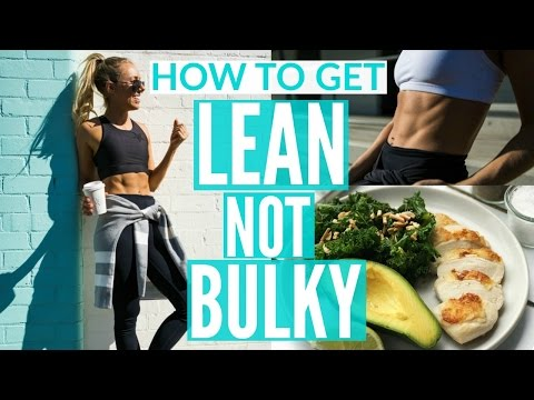 how-to-get-lean-not-bulky-|-full-day-of-eating-|-workout-for-lean-arms