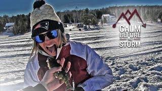 The Ladies hit the Ice  Maine Ice fishing 2019