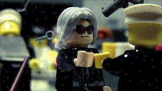 LEGO Quicksilver Scene (X-Men: Days of Future Past)