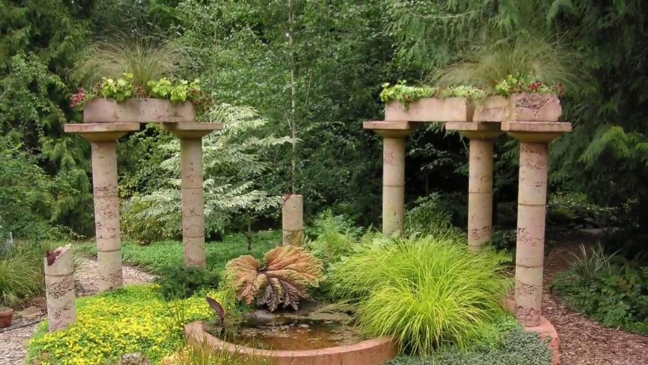 Mediterranean Garden Design Plans UK - YouTube