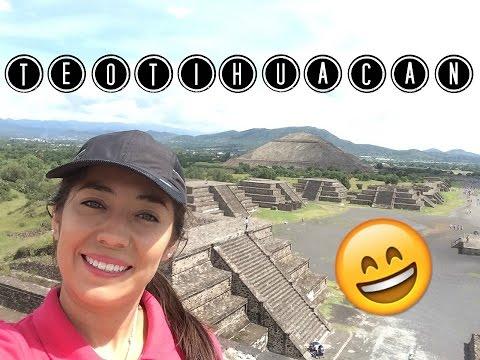 Pirámides en Teotihuacán