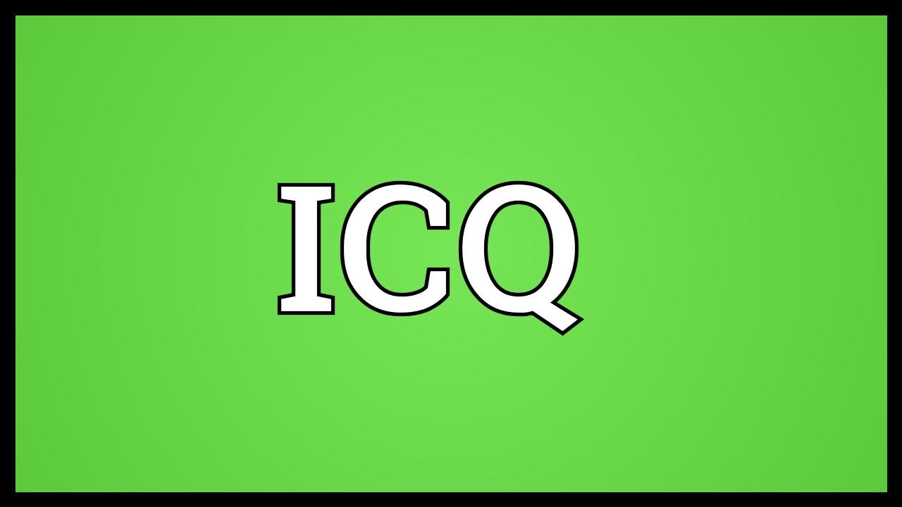 ICQ Meaning