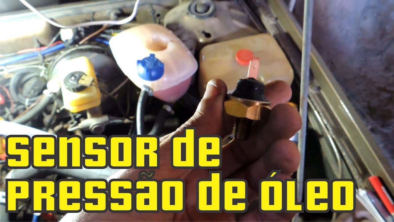 Troca do Sensor de Óleo ou Cebolinha de Óleo dos Motores ...