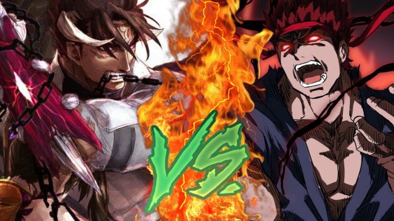 devil jin vs evil ryu 2 tekken x street fighter sprite animation