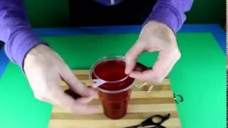 КАк сделать желейные стаканы)))