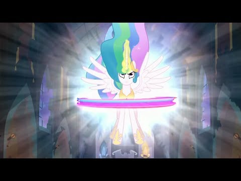 Celestia Sends Luna To The Moon - My Little Pony: Friendship Is Magic - Season 4