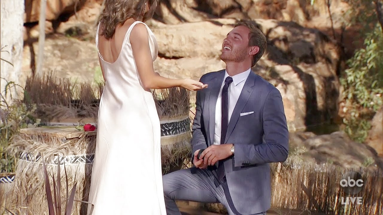 Download Bachelor Peter Weber Proposes to Hannah Ann - The Bachelor