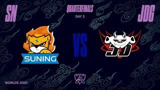 SN vs JDG   Quarterfinal Game 2   World Championship   Suning vs. JD Gaming (2020)