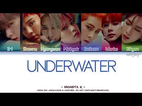 MONSTA X (몬스타엑스) – UNDERWATER (Coded Lyrics Eng/Rom/Han/가사)