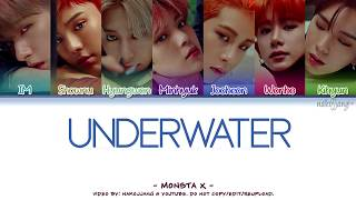 MONSTA X (몬스타엑스) - UNDERWATER (Coded Lyrics Eng/Rom/Han/가사)