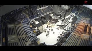 Трансформация большой арены ВТБ Ледового Дворца