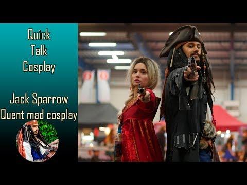 Quick Talk Cosplay #10 - Quent Mad Cosplay présente Jack Sparrow [En Sub]
