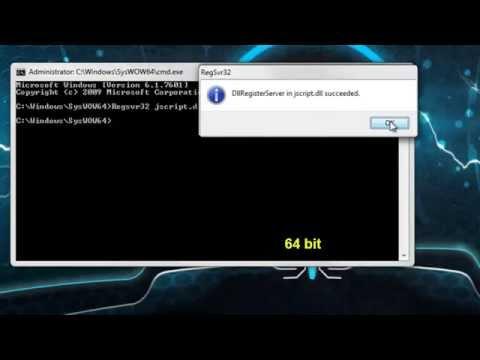 0x80004005 error fixing method on windows7 32bit and 64bit Computing
