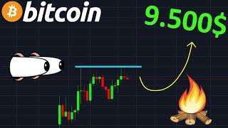 BITCOIN 9800$ ENCORE EN VUEEE !? btc analyse technique crypto monnaie