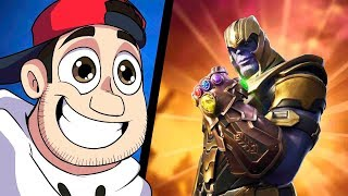 Fortnite: THANOS DO AVENGERS - MANOPLA DO INFINITO ‹ AMENIC ›