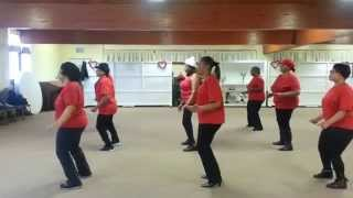 Shake A Tailfeather Line Dance