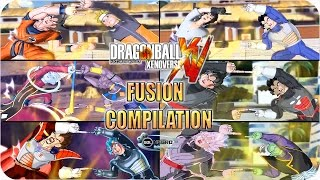 All Best Dragon Ball FUSIONS and Crossover Compilation in Xenoverse by Sol Negro