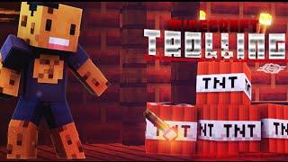 Minecraft - Cel mai EPIC TROLL - Totul arde :))