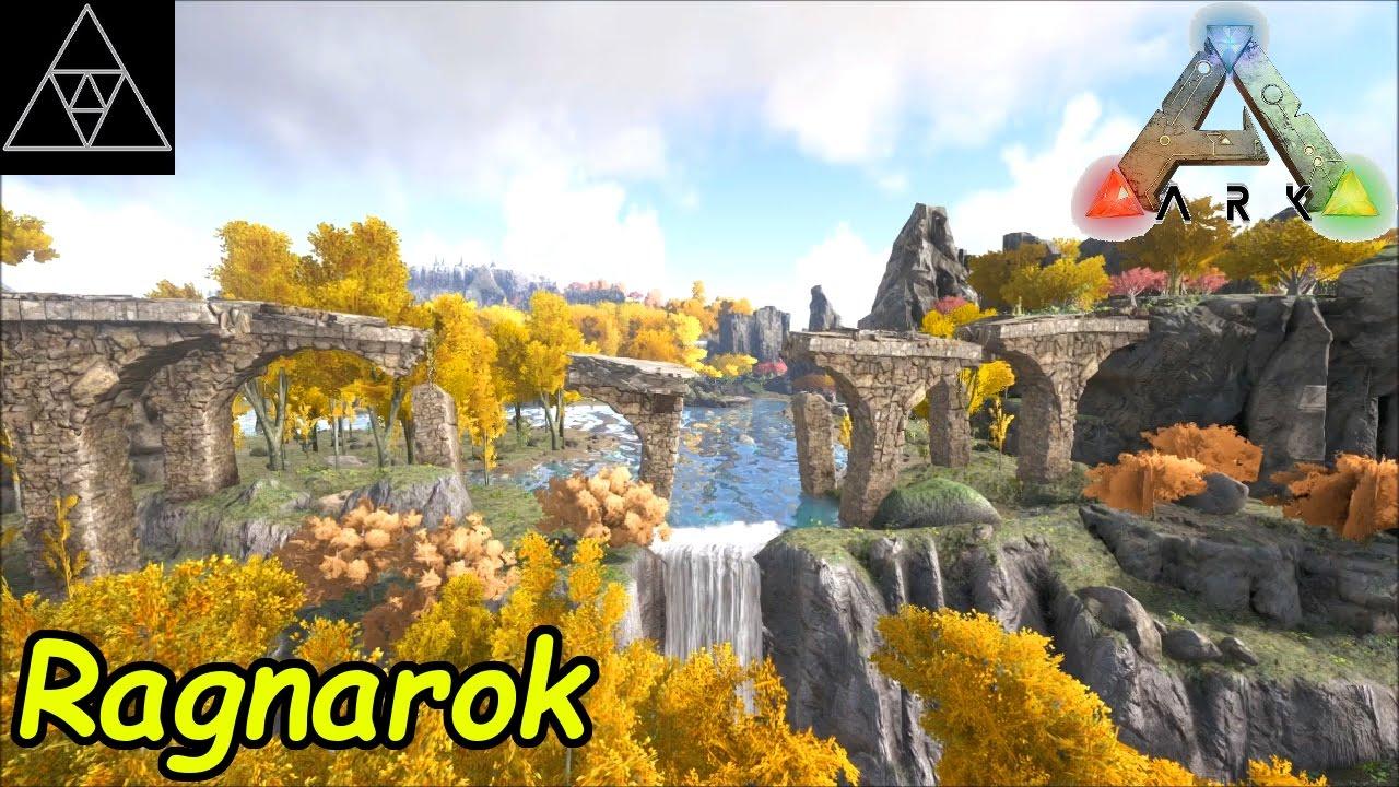 Ark Ragnarok Map Vs The Island