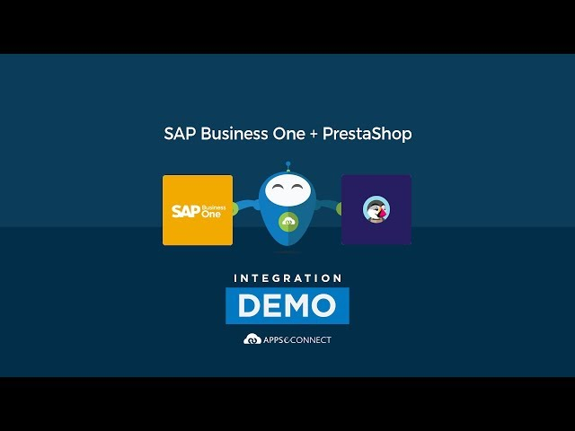 Integrate SAP Business One and PrestaShop | APPSeCONNECT