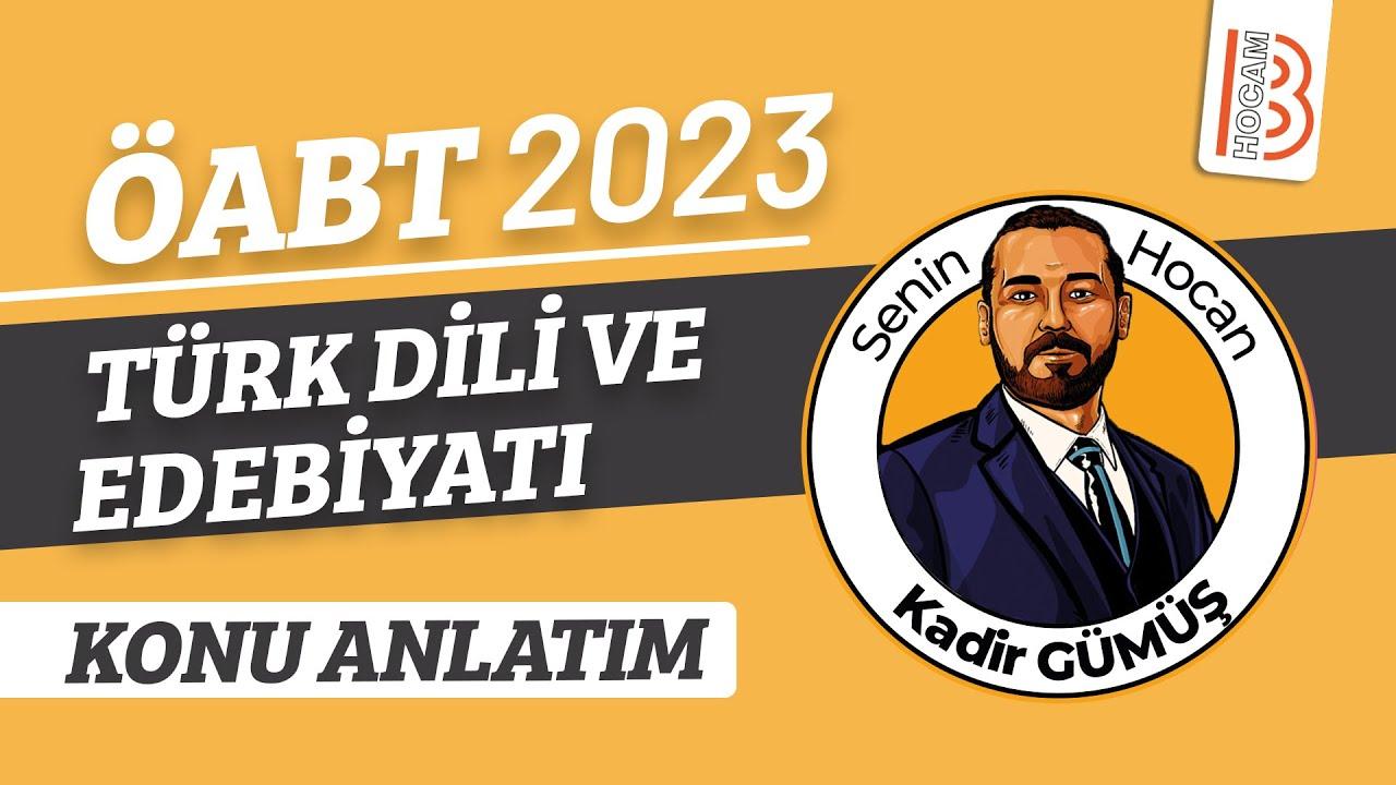 16) Eski Türk Edebiyatı - XVI - ÖABT Türk Dili ve Edebiyatı Türkçe Dersi - Kadir Gümüş (2021)