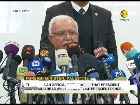 Palestine President refuses to meet Pence