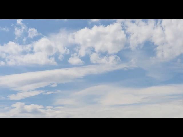 Felhők Múló idő  Nyár / Time-lapse Clouds