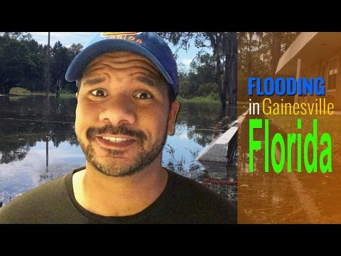 Flooding In Gainesville Florida