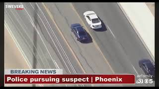 92 Mins and 55 Seconds Of High Speed Phoenix Police Chase March