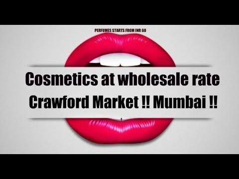ORIGINAL COSMETICS AT CRAWFORD MARKET PART 1||TRAVEL VLOG|| MUMBAI 2018 ||