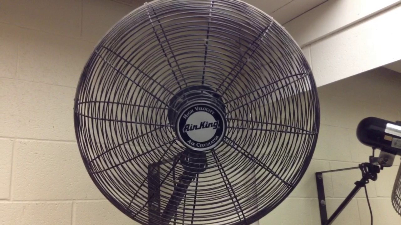 Air King Industrial Wall Fan Youtube