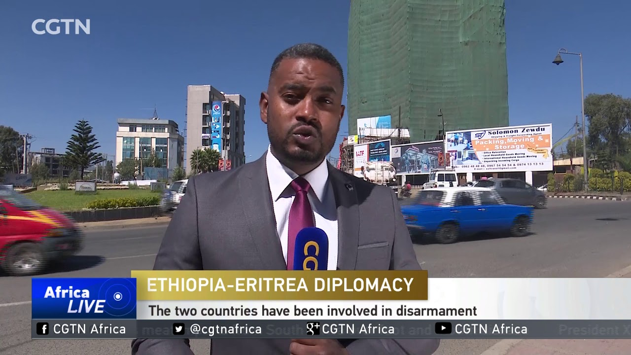 CGTN: Ethiopian Army Prevented From Leaving Ethiopia-Eritrea Border