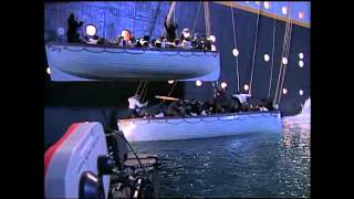 Making Of Titanic - Lifeboats 13 & 15