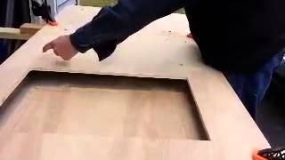 Diy How To Cut A Square Opening In A Plywood Panel Part 1 Of 2