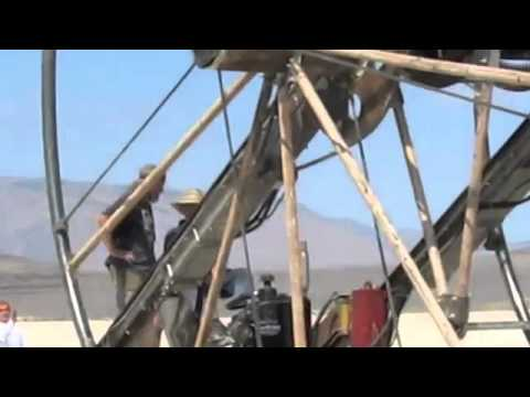 Burning Man Time Cycle Metal Fabrication