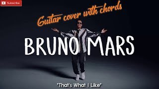 Baixar That's What I Like | Bruno Mars | Guitar Cover Chords