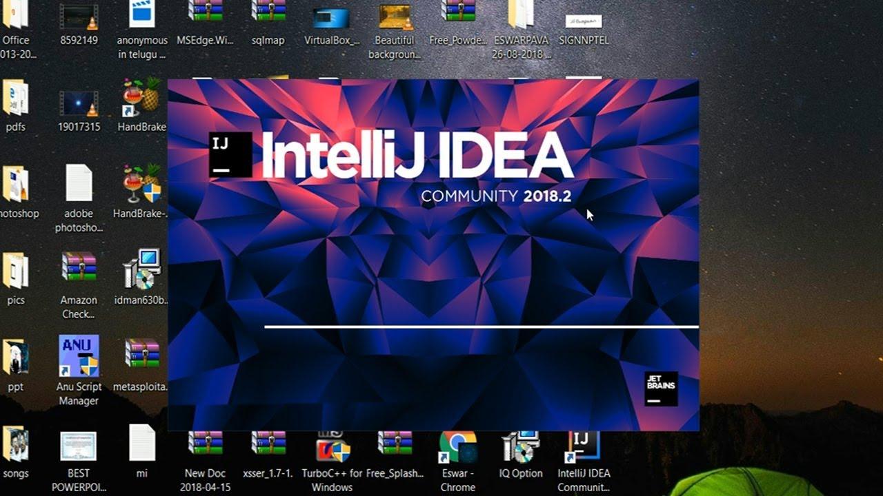 How To Download And Install Intellij Idea 2018.2 On Windows 10-Install Intellij Idea 2018 In Telugu