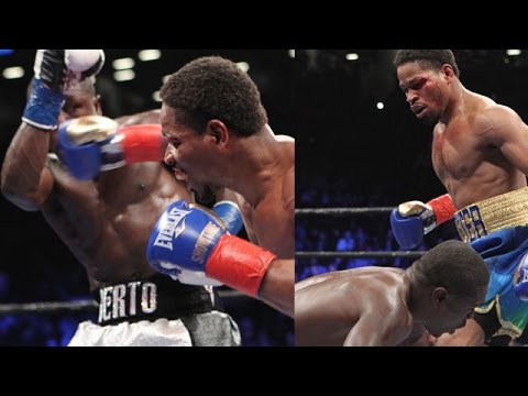 SHAWN PORTER DROPS AND STOPS ANDRE BERTO - FULL FIGHT AFTERMATH; PORTER CALLS OUT THURMAN