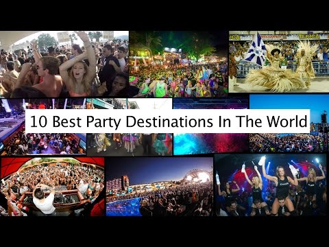 10 Best Party Destinations In The World