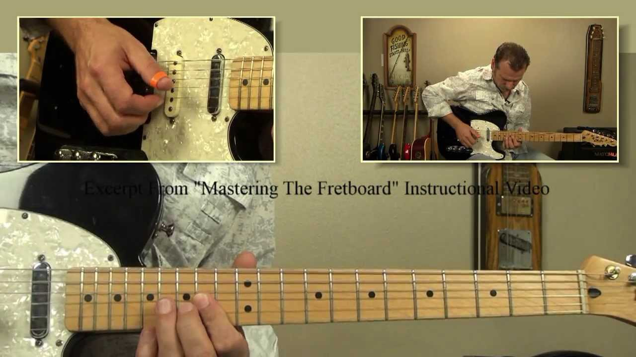 Amarillo By Morning Guitar Intro Youtube