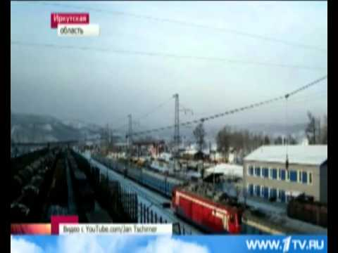 Поезд Сошол с рельс 12,01,2013 Северная Железная Дорога