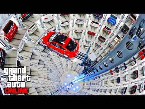 BEST GARAGE IN THE WORLD - NEW GTA 5 IMPORT/EXPORT 55,000,000 DLC SHOWCASE!! GTA 5 IMPORT & EXPORT