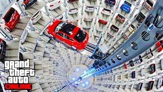 BEST GARAGE IN THE WORLD - NEW GTA 5 IMPORT/EXPORT 55,000,000 DLC SHOWCASE!! GTA 5 IMPORT & EXPORT